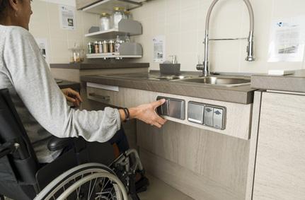 Cucine per disabili - Cucine accessibili in carrozzina - Su misura